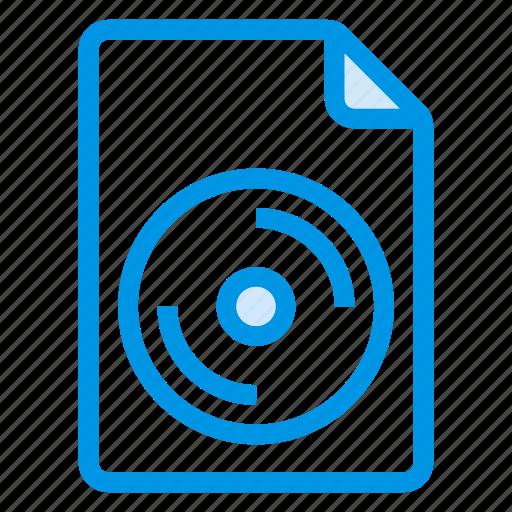 cd, document, documentation, documentfile, documentrecord, file, recordfiles icon