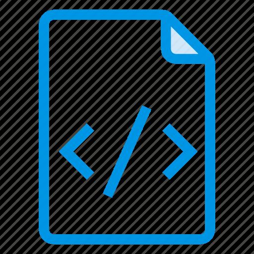 code, document, documentation, documentfile, documentrecord, file, recordfiles icon