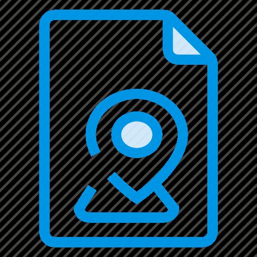 document, documentation, documentfile, documentrecord, file, location, recordfiles icon