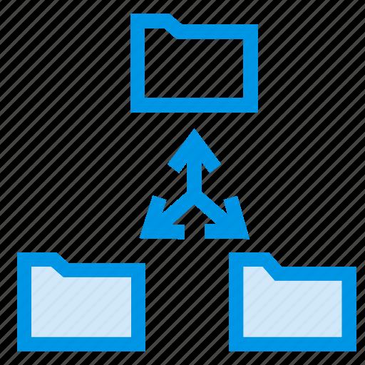 directory, documentcase, filescatalog, folder, jacket, portfolio, share icon