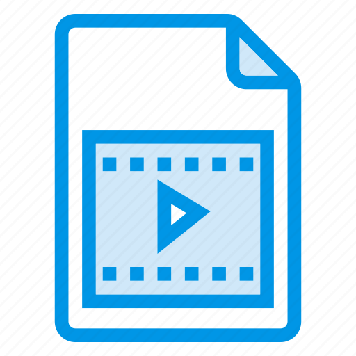 document, documentation, documentfile, documentrecord, file, recordfiles, video icon