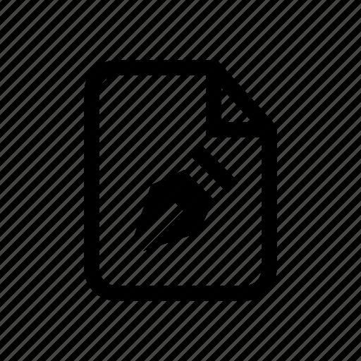 file, file vector, illustrator file, pen tool, vector file, vector icon icon