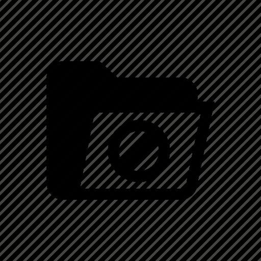 denied, denied folder, error folder, folder, folder denied, folder reject, reject folder icon