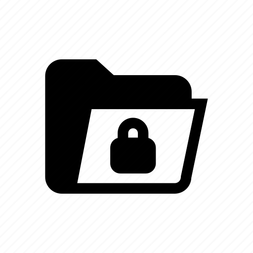 folder, folder lock, folder protect, folder safety, folder secure, lock, protected folder icon