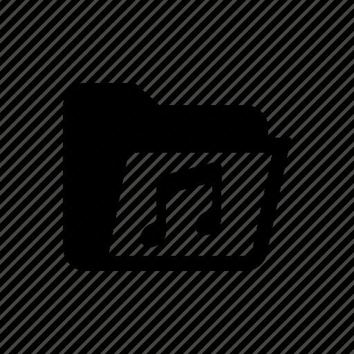 folder, folder music, folder song, folder sound, music, music folder, song folder icon