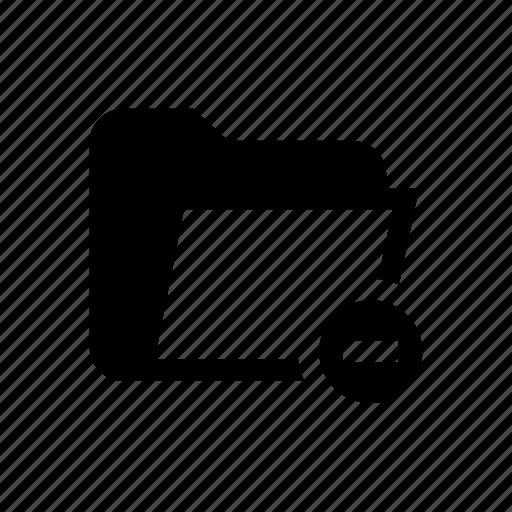delete folder, folder, folder delete, folder exclude, folder minus, folder remove, remove icon