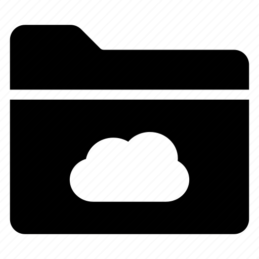 cloud, directory, documentcase, filescatalog, folder, jacket, portfolio icon