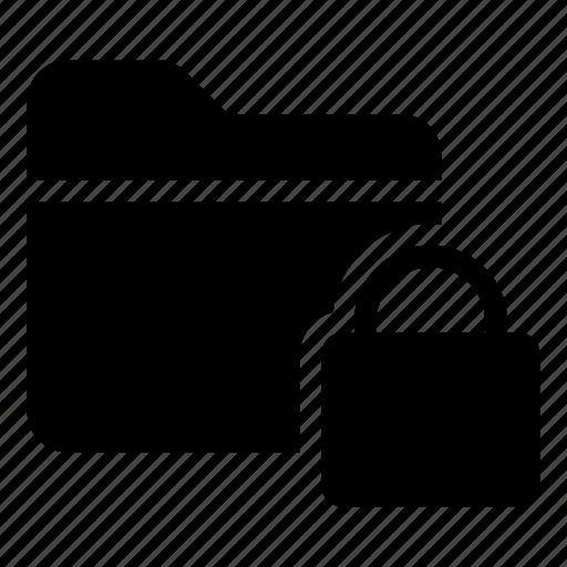 Directory, documentcase, filescatalog, folder, jacket, lock, portfolio icon - Download on Iconfinder