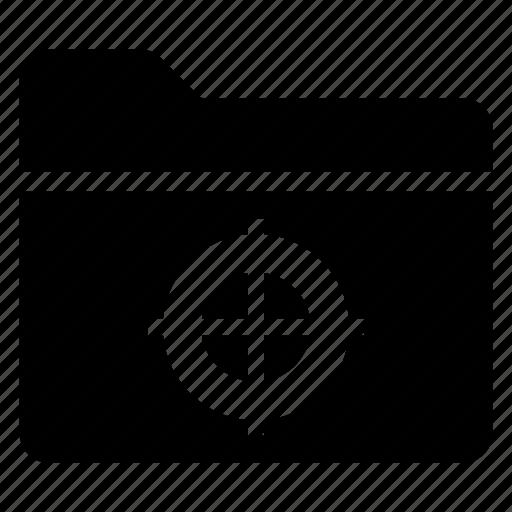 directory, documentcase, filescatalog, folder, jacket, portfolio, target icon