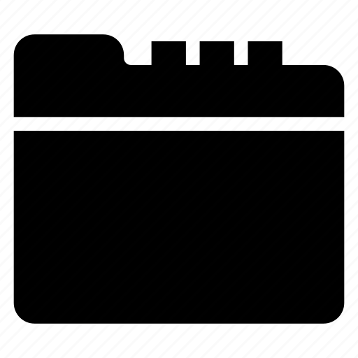 directory, documentcase, filescatalog, folder, jacket, portfolio, seprator icon