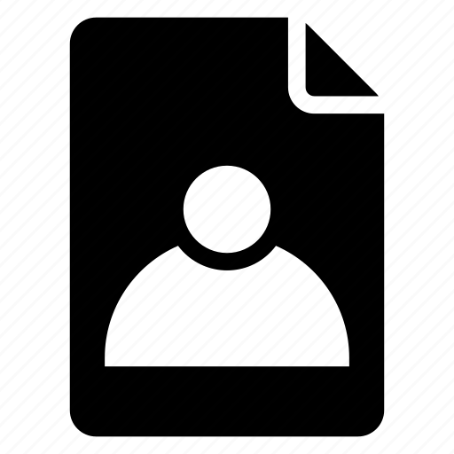document, documentation, documentfile, documentrecord, file, recordfiles, user icon