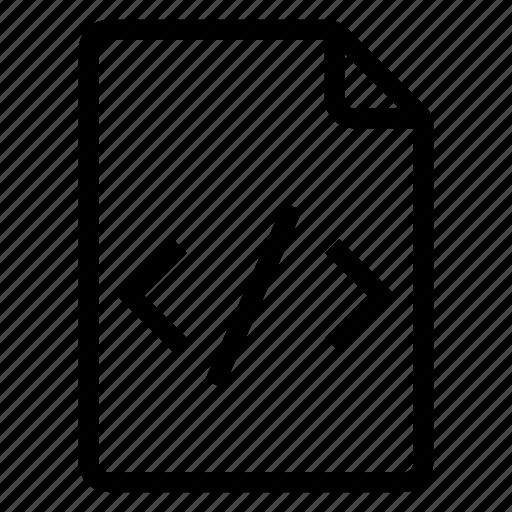coding, document, documentation, documentfile, documentrecord, file, recordfiles icon