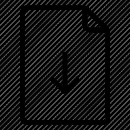 document, documentation, documentfile, documentrecord, download, file, recordfiles icon