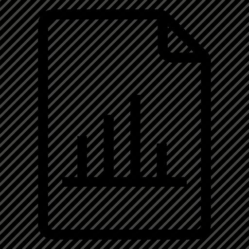 document, documentation, documentfile, documentrecord, file, graph, recordfiles icon