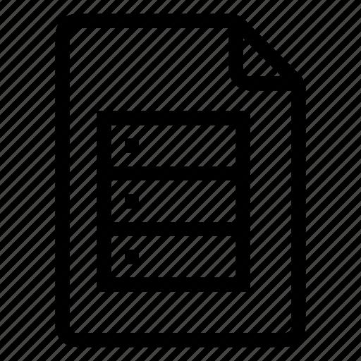 document, documentation, documentfile, documentrecord, file, recordfiles, server icon