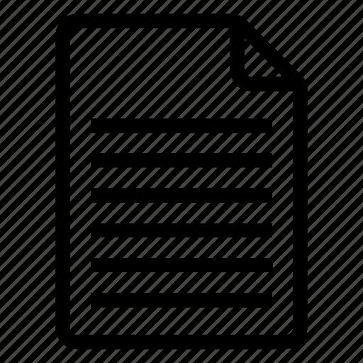 document, documentation, documentfile, documentrecord, file, recordfile, text icon