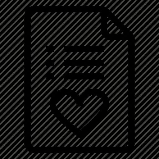 document, documentation, documentfile, documentrecord, favourite, file, list icon