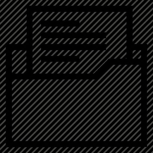 directory, documentcase, filescatalog, folder, jacket, portfolio, text icon