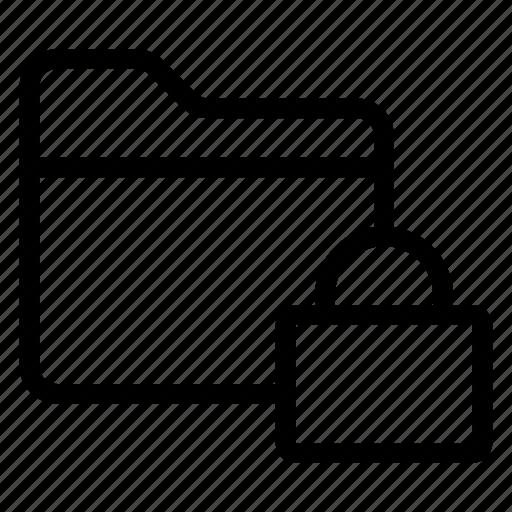 directory, documentcase, filescatalog, folder, jacket, lock, portfolio icon