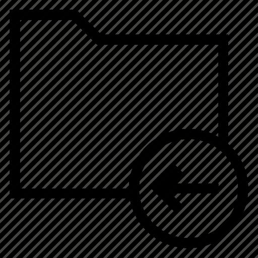 directory, documentcase, filescatalog, folder, jacket, portfolio, receive icon