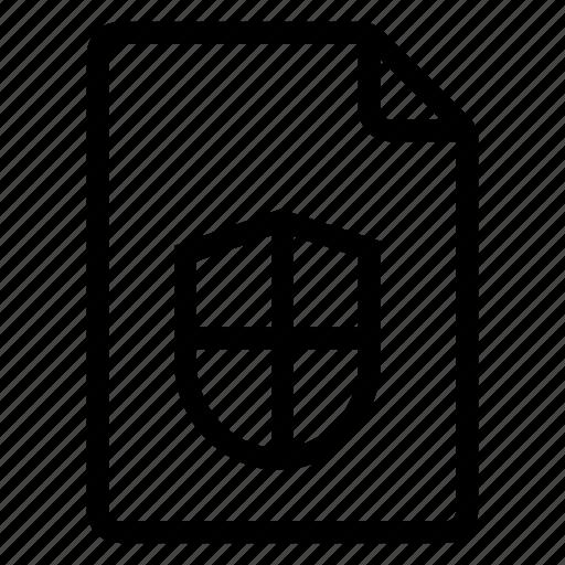 document, documentation, documentfile, documentrecord, file, recordfiles, secure icon