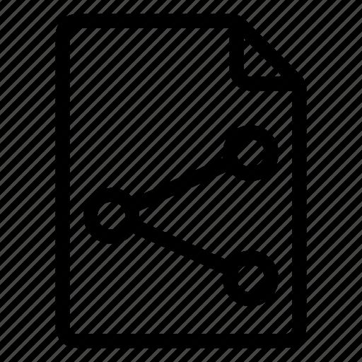document, documentation, documentfile, documentrecord, file, recordfiles, share icon