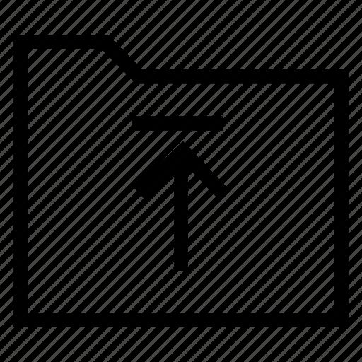 directory, documentcase, filescatalog, folder, jacket, portfolio, upload icon