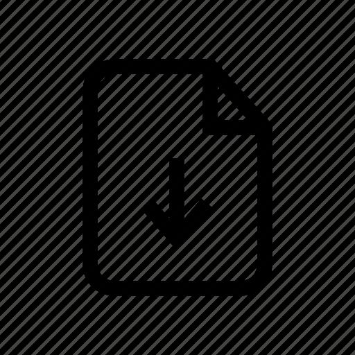 download, download file, downloading, file, file download, file import, import file icon