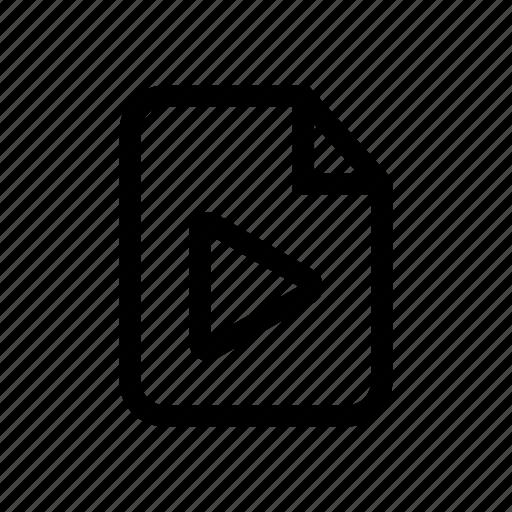 file, file media, media, media file, media icon, multimedia file icon