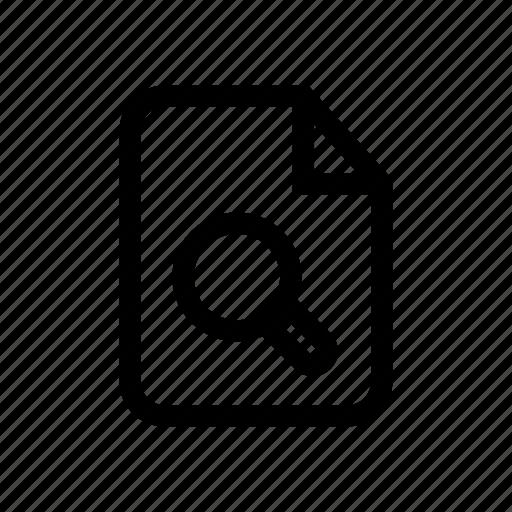 file, file missing, file search, missing file, search, search file, view file icon