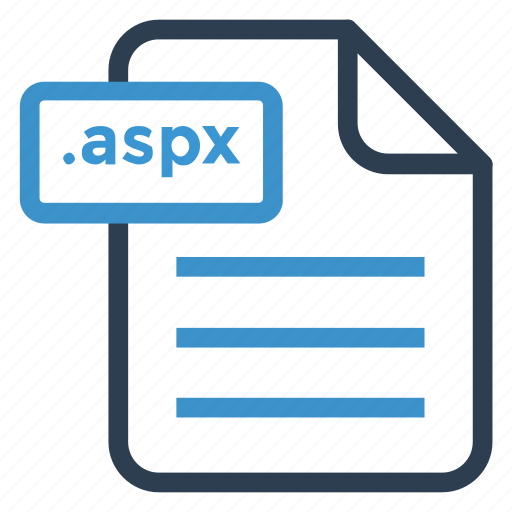 aspx, document, documentation, file, paper, record, sheet icon