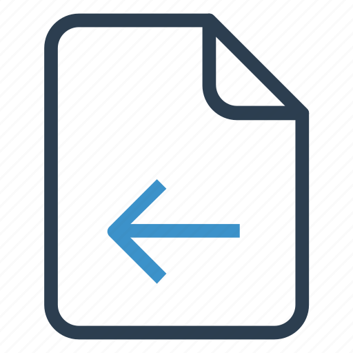 back, document, documentation, file, paper, record, sheet icon