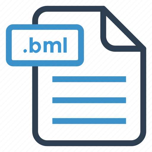 bml, document, documentation, file, paper, record, sheet icon