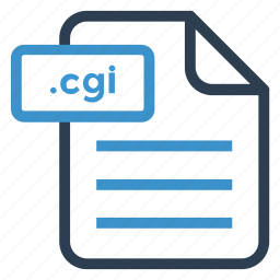 cgi, document, documentation, file, paper, record, sheet icon