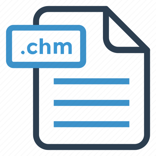 chm, document, documentation, file, paper, record, sheet icon