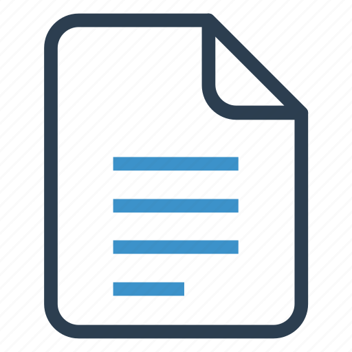 content, document, documentation, file, paper, record, sheet icon