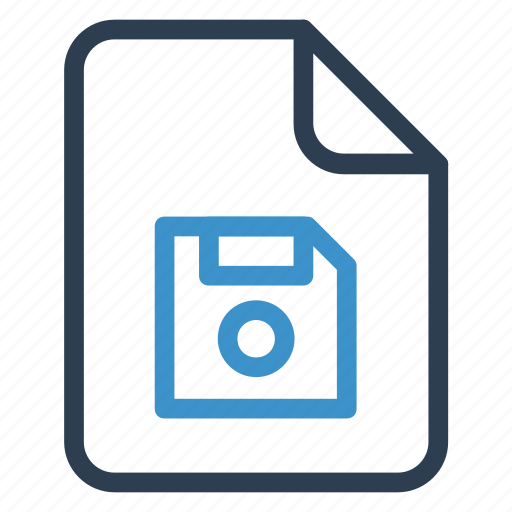 disk, document, documentation, file, paper, record, sheet icon