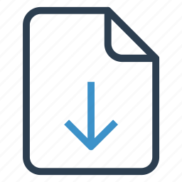document, documentation, download, file, paper, record, sheet icon