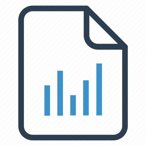 document, documentation, file, graph, paper, record, sheet icon