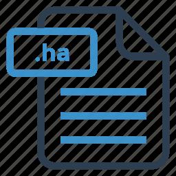 document, documentation, file, ha, paper, record, sheet icon