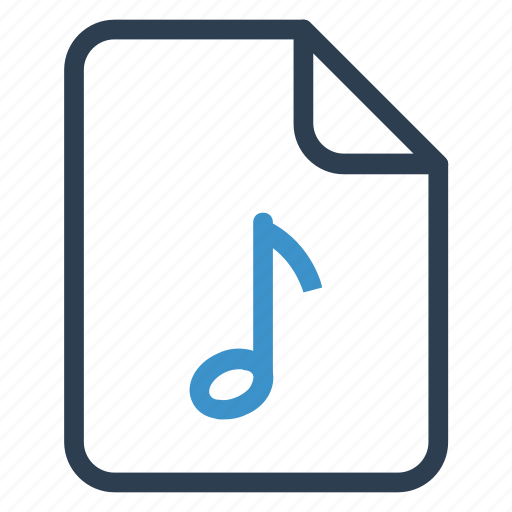 document, documentation, file, music, paper, record, sheet icon
