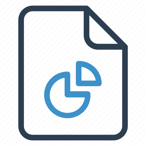 document, documentation, file, paper, piegraph, record, sheet icon