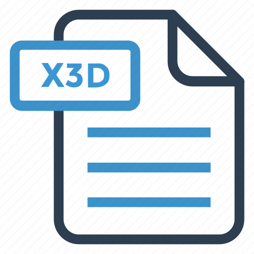 document, documentation, file, paper, record, sheet, x3d icon