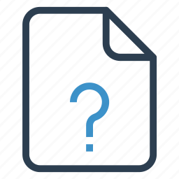 document, documentation, file, paper, question, record, sheet icon