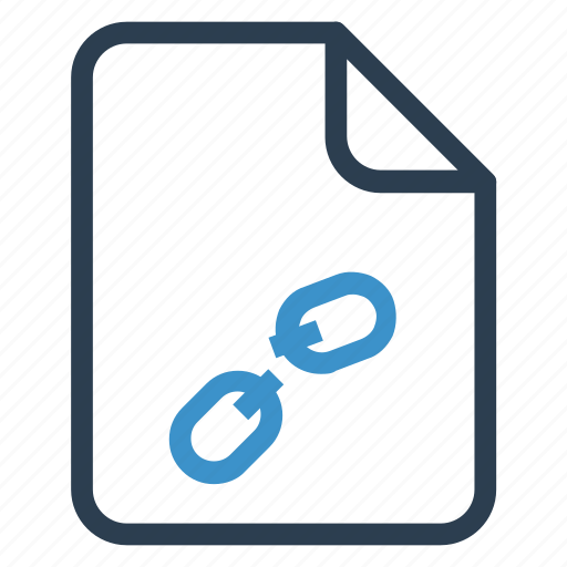 document, documentation, file, paper, record, sheet, unlink icon