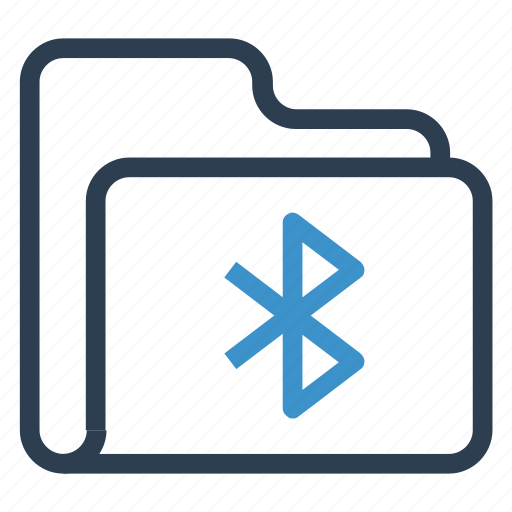 archive, bluetooth, data, folder, storage icon