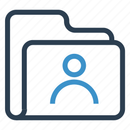 account, archive, data, folder, storage icon
