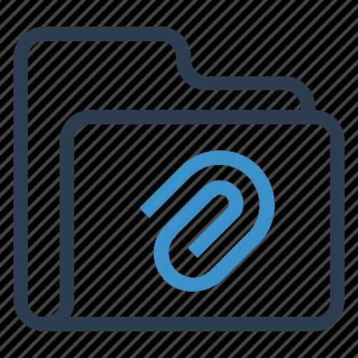 archive, attach, data, folder, storage icon