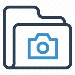 archive, camera, data, folder, storage icon
