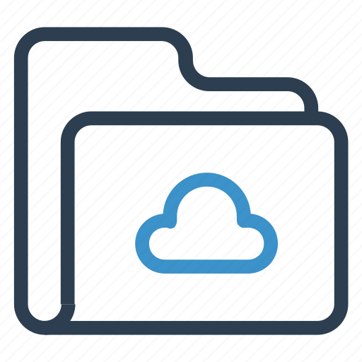 archive, cloud, data, folder, storage icon